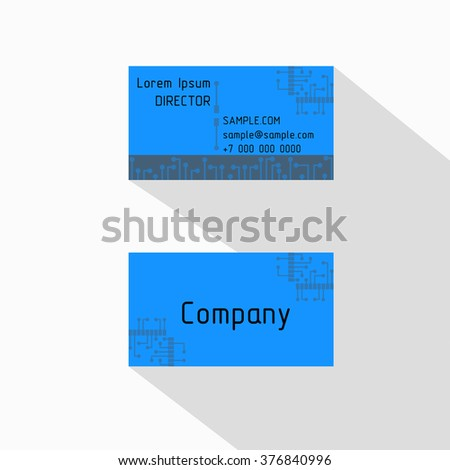 Circuit board high technological chip style stock vector 376840996 circuit board high technological chip style business card for electrical engineer vector cards electrical colourmoves