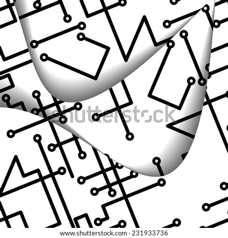 circuit board illustration digital composition stock vector hd rh shutterstock com circuit board vector png circuit board vector pattern