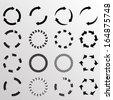 circular arrows  - stock