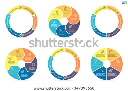circular diagram stock photos  royalty free images  amp  vectors    circular diagrams  flat charts  graphs  diagrams    steps  options  parts