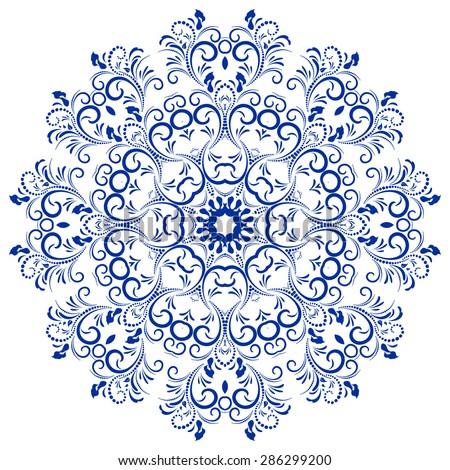 Flower Mandala Iphone Wallpaper Circular Floral Ornament