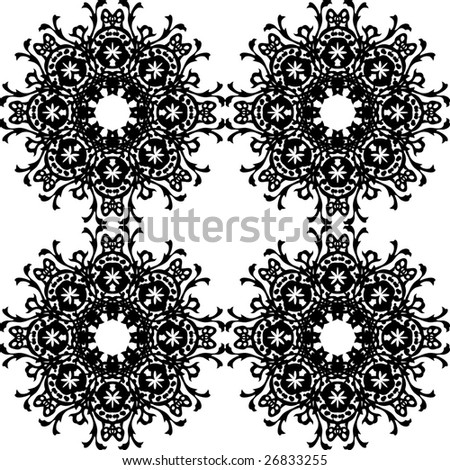 Circular pattern - stock vector