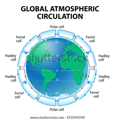 A Diagram Of Global Atmospheric Patterns Diy Enthusiasts Wiring