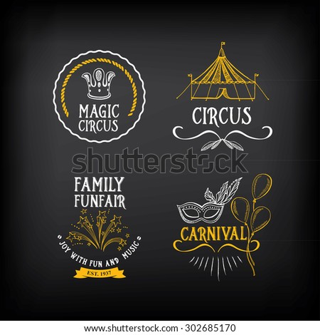 circus logo stock vectors amp vector clip art shutterstock