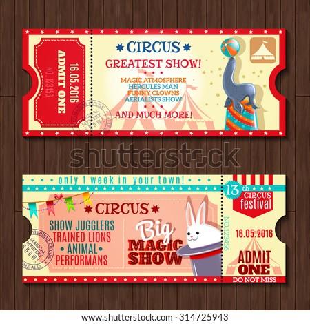 Magic Show Images RoyaltyFree Images Vectors – Show Ticket Template