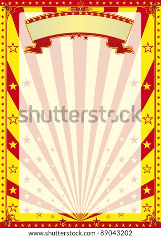 Circus for Ever A new circus background for your advertising
