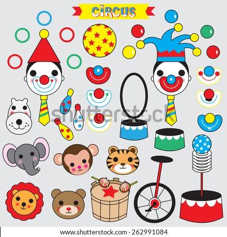 Circus Icon illustration - stock vector