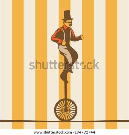 Circus illustration - stock vector
