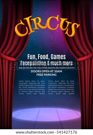 theater invitation template