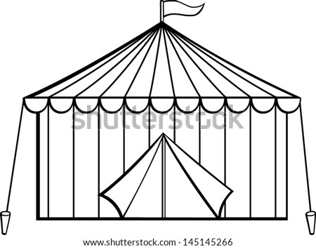 tent clipart black and white. circus tent clipart black and white