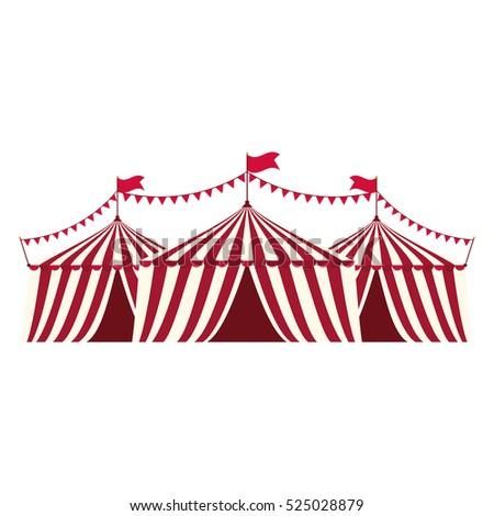Circus tent festival icon vector illustration graphic design  sc 1 st  Shutterstock & Circus Tent Festival Icon Vector Illustration Stock Vector ...