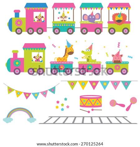 Circus vector illustration - stock vector