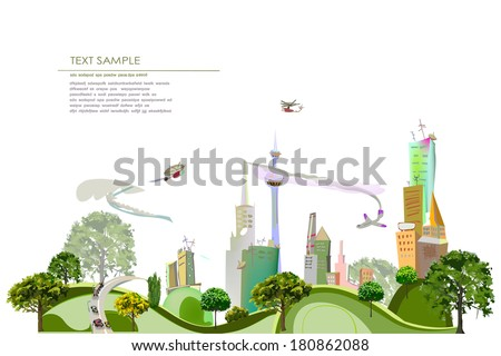 City background, City collection