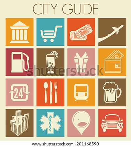 City guide icons