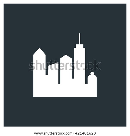 City Icon, City Icon Eps10, City Icon Vector, City Icon Eps, City Icon Jpg, City Icon Picture, City Icon Flat, City Icon App, City Icon Web, City Icon Art, City Icon Object - stock vector