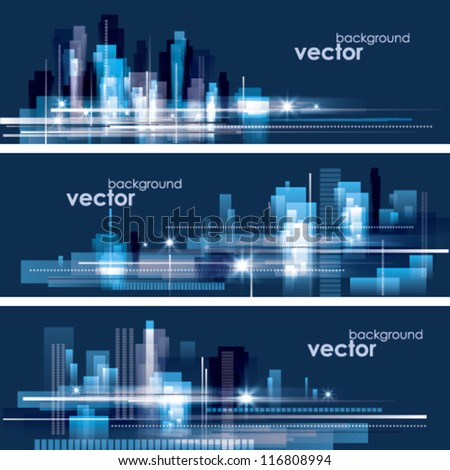 City Landscape - stock vector