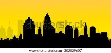 City Morning Skyline