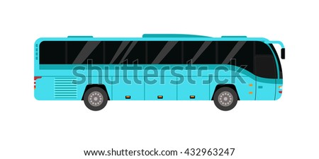 City public bus and vehicle transportation city bus vector. City bus vector travel passenger public and city bus vector traffic tour front commercial trip. City bus vector street ride municipal car.