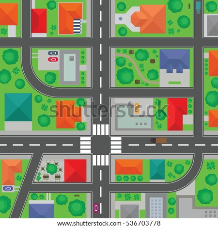 Neighborhood Road Stock Images Royalty Free Images