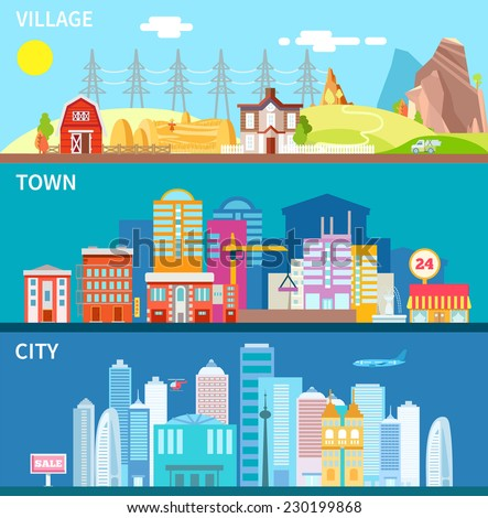 an analysis of difference of living in small towns and big cities Certain advantages of living in a large city city life and rural life are absolutely the different sides of the coin, so choosing whether to live in a big city or a small town requires serious consideration.