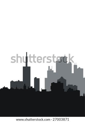 City.Vector. - stock vector