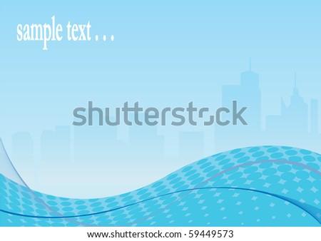 Cityscape. Vector illustration - stock vector