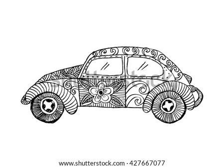 Classic Car Decorative Style