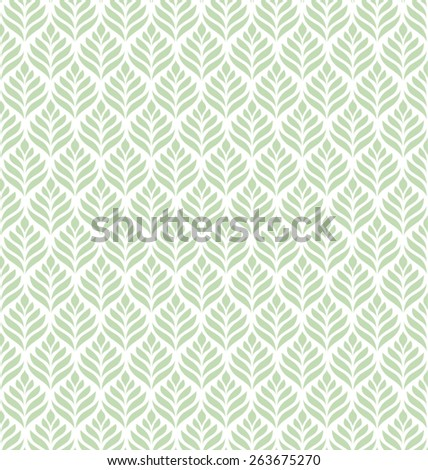 CLASSIC LEAVES PATTERN / BACKGROUND DESIGN. Modern stylish texture. Repeating and editable vector illustration file. Can be used for prints, textiles, website blogs etc. - stock vector
