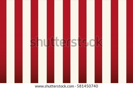 Classic Red And White Stripe Wallpaper Backdrop