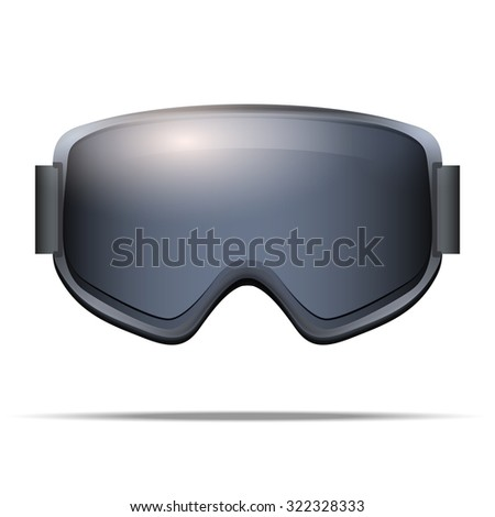 reflective snowboard goggles  Reflective Snow Goggles Stock Photos, Royalty-Free Images ...