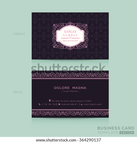 Namecards Photos RoyaltyFree Images and Vectors Shutterstock – Sample Name Card