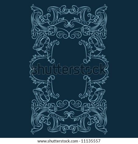 Classical Element - stock vector