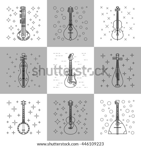 Mandolin And Guitar Stock Photos, Royalty-Free Images & Vectors ...