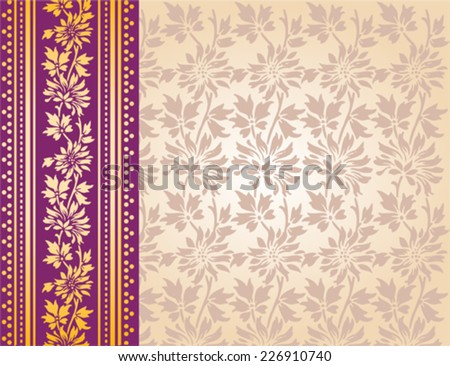 Saree Design Stock Images, Royalty-Free Images & Vectors ...