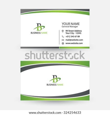 Clean simple modern business card spiral stock vector 324254633 clean and simple modern business card spiral swoosh design colourmoves