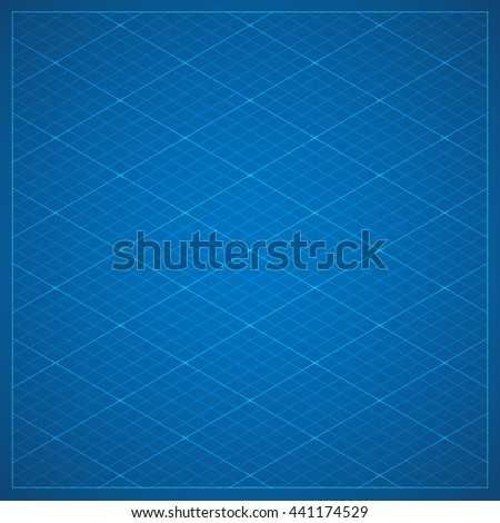 Clean isometric blueprint page background millimeter stock photo clean isometric blueprint page background millimeter paper texture background with isometric grid projection in dark malvernweather Image collections