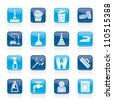 Cleaning and hygiene icons - vector icon set - stock vector