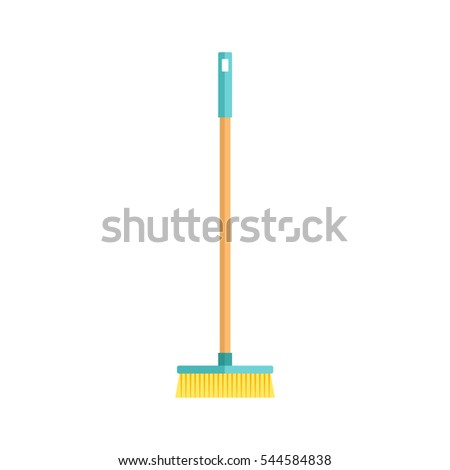 Cleaning housework wash tool flat vector illustration