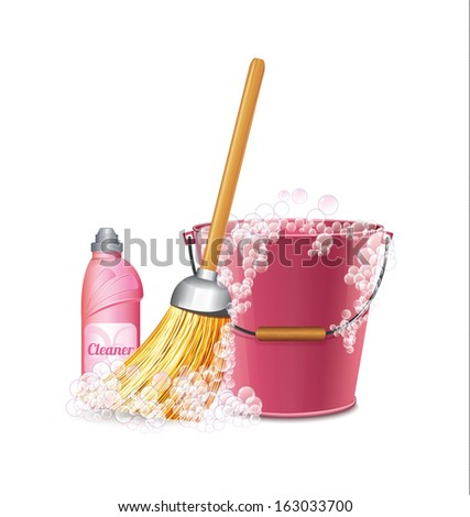 Cleaning Icon - stock vector
