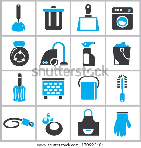 Housekeeping Icon Stock Images