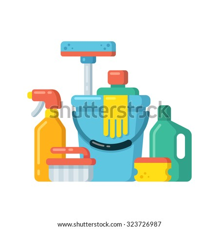 Cleaning Supplies Stock Images, Royalty-Free Images ...