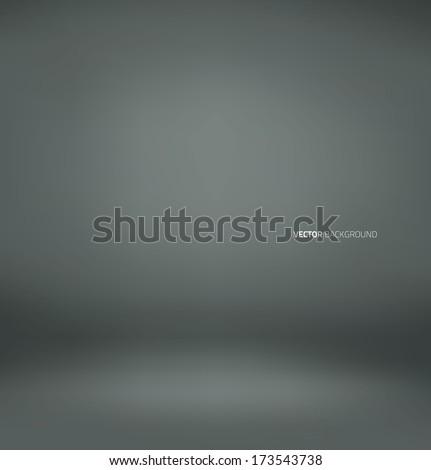 Clear empty photographer studio background. - stock vector