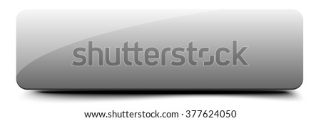 Clear web button - stock vector