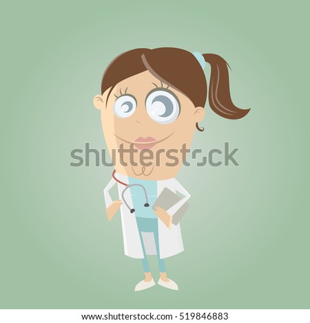 clipart of a female doctor