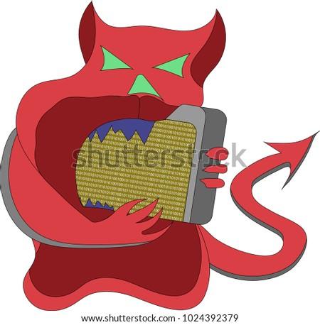 clipart on theme computer viruses virus stock vector 1024392379 rh shutterstock com