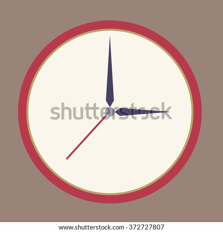 clock cartoon vector