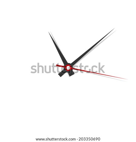 Clock face. Set up your time. - stock vector
