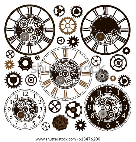 """roman_clock"" Stock Images, Royalty-Free Images & Vectors ..."