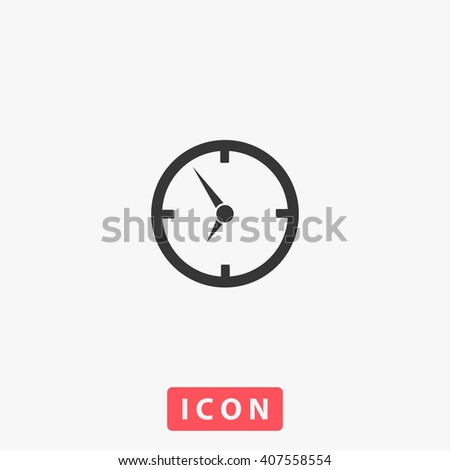 clock Icon. clock Icon Vector. clock Icon Art. clock Icon eps. clock Icon Image. clock Icon logo. clock Icon Sign. clock Icon Flat. clock Icon design. clock icon app. clock icon UI. clock icon web - stock vector