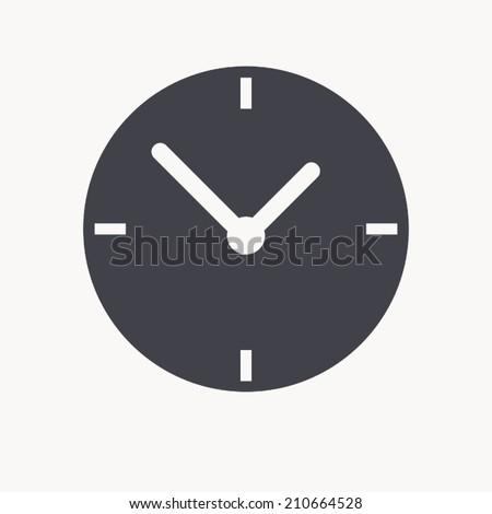clock icon icon , vector illustration - stock vector